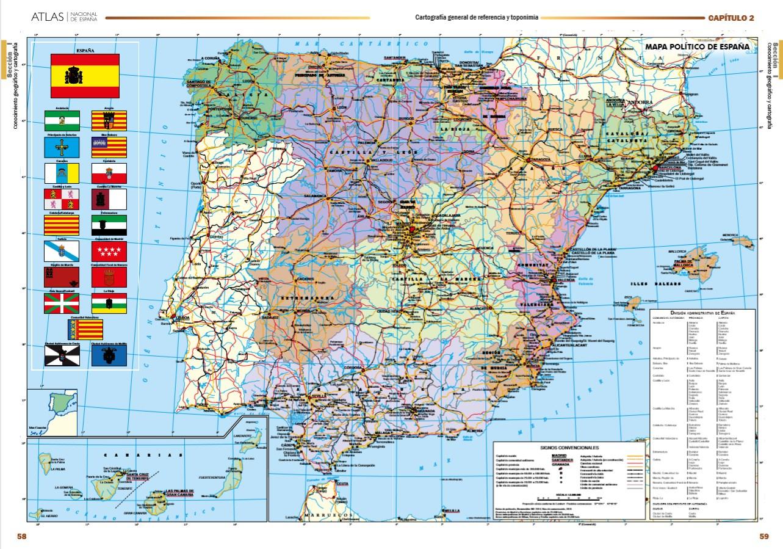 Mapa De Espana Pdf.Espana En Mapas Para Descargar Gratis En Pdf Blog